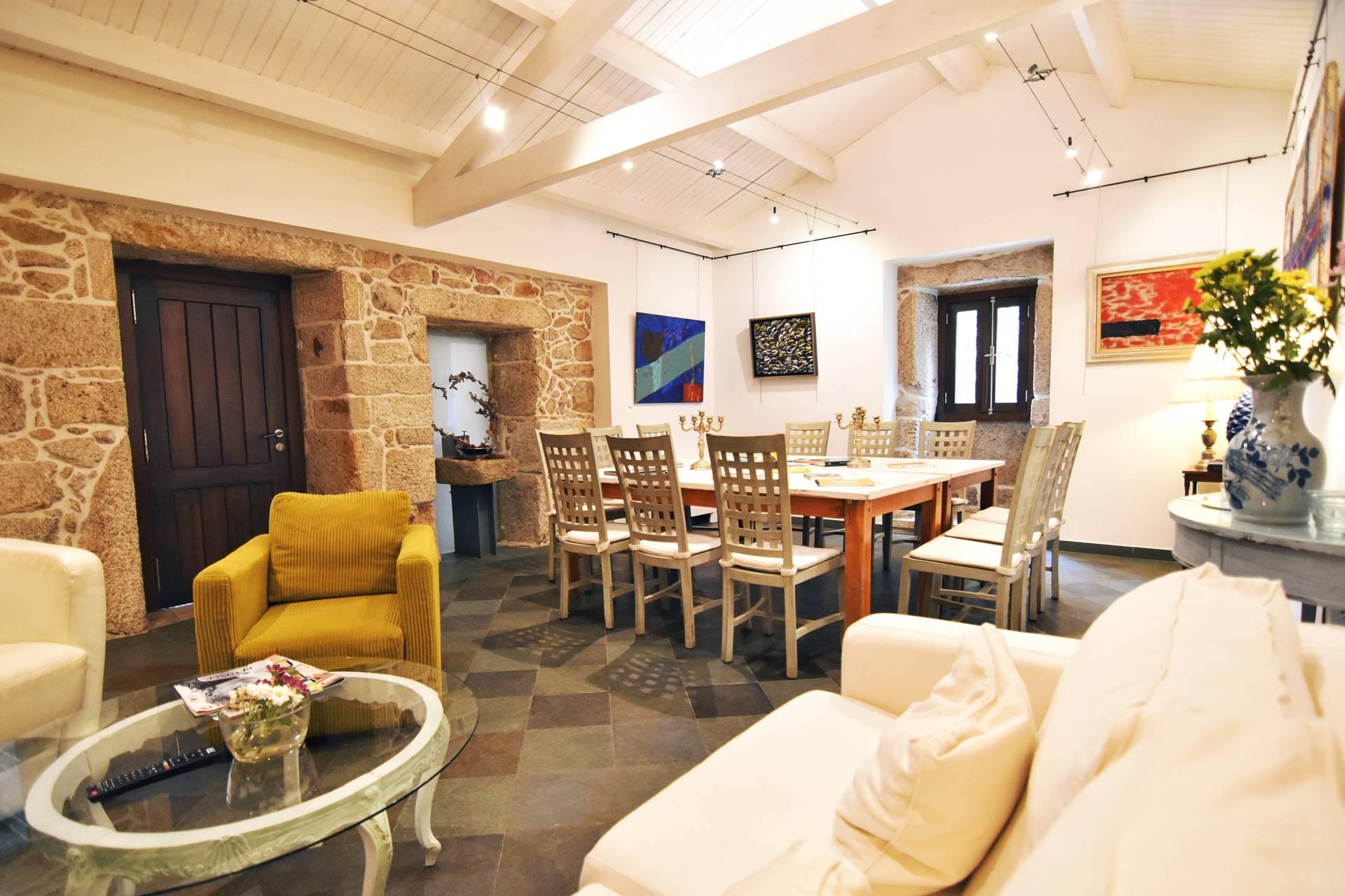Biblioteca - Quinta de San Amaro Hotel & Restaurante
