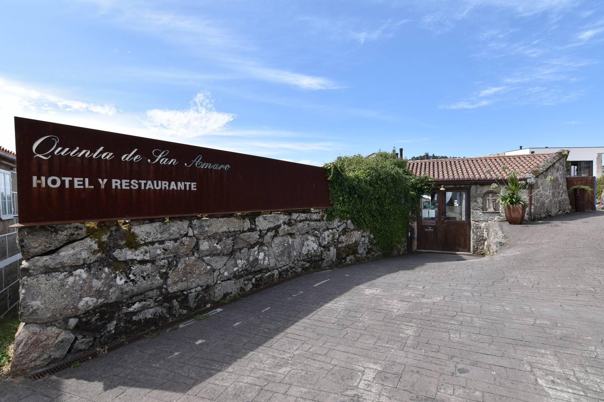 Entrada - Quinta de San Amaro Hotel & Restaurante