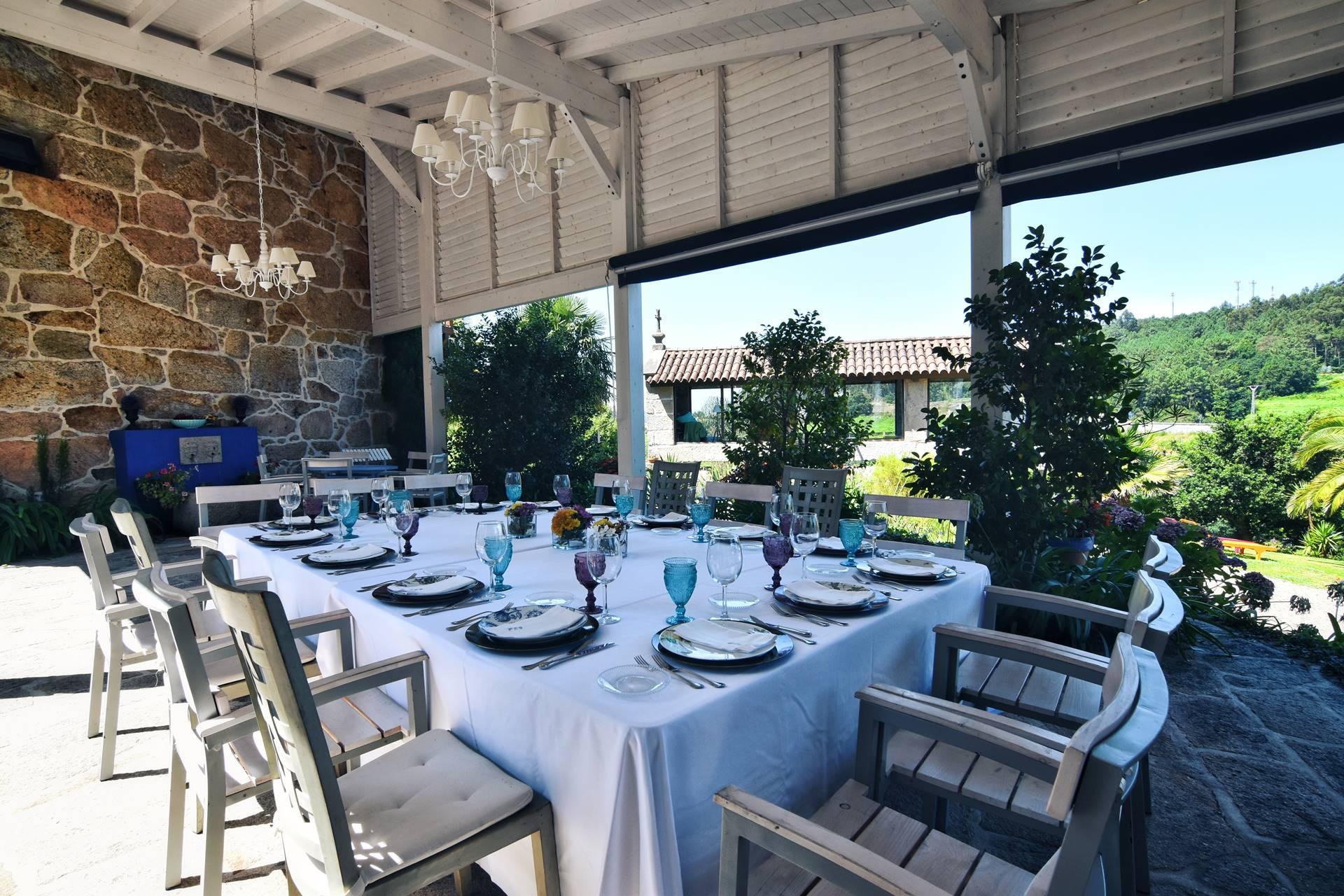 Pérgola - Quinta de San Amaro Hotel & Restaurante